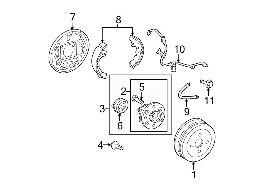 Toyota Yaris Abs Wheel Speed Sensor Wiring Harness  Yaris