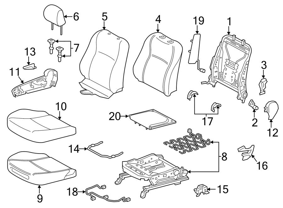 Toyota Yaris Air Bag Wiring Harness  2 Door  4 Door  Front