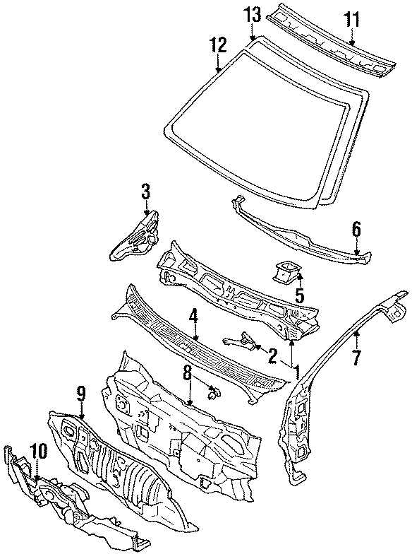 Toyota Corolla Panel Sub