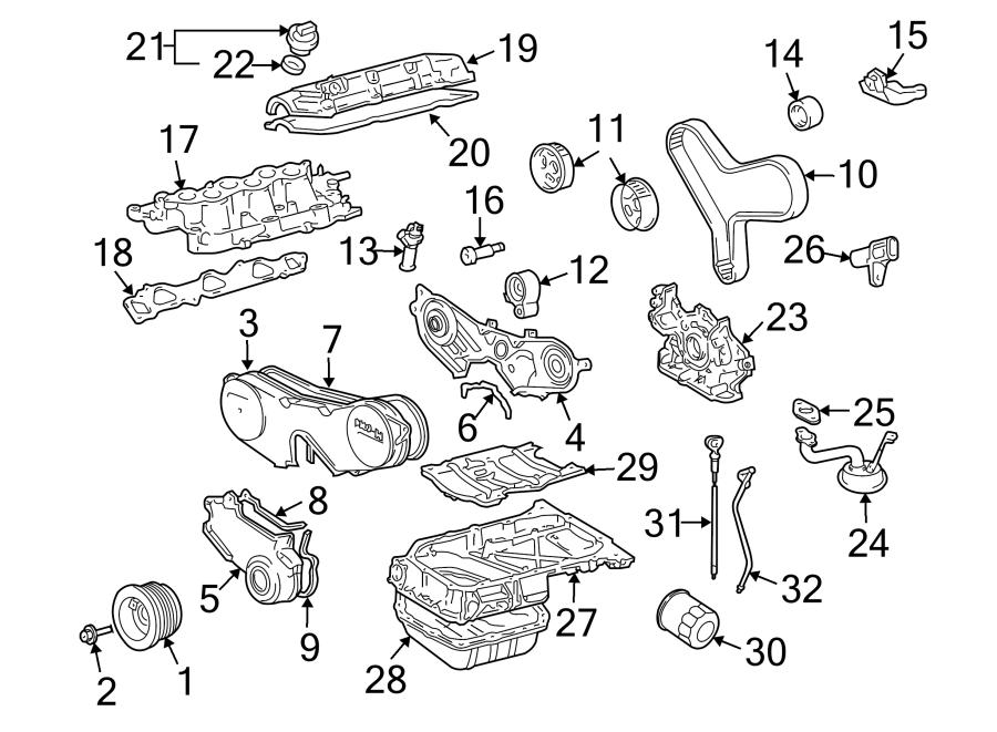 Toyota Highlander Engine Timing Belt Tensioner  Hybrid