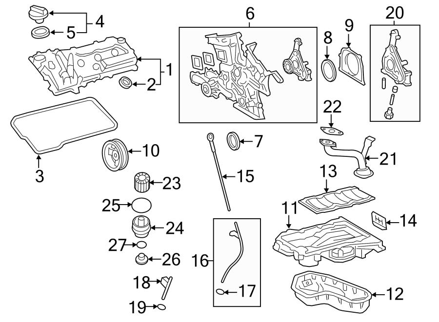 Toyota Highlander Engine Valve Cover Gasket