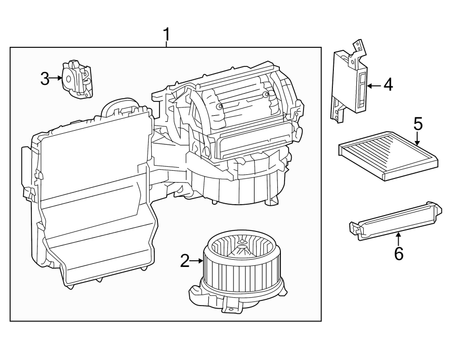 Toyota Highlander Amplifier Assembly  Air  3 5 Liter  W  O