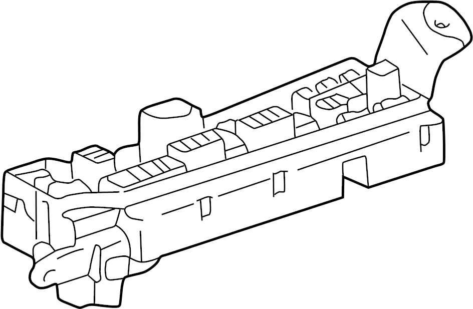 toyota matrix fuse box  engine compartment  under hood