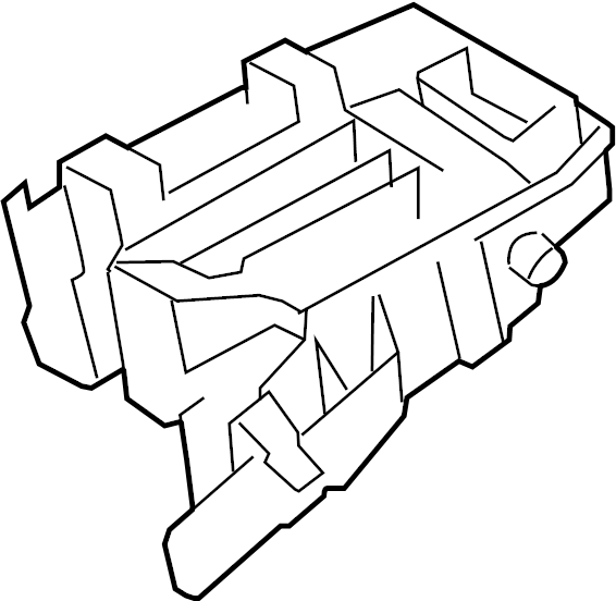 toyota matrix fuse box  engine compartment  electrical