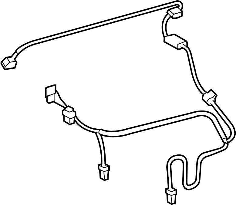 Toyota Rav4 Hvac System Wiring Harness  Auto Ac