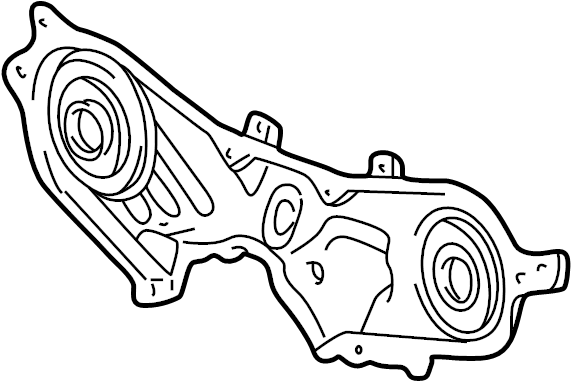 Toyota Sienna Engine Timing Cover  Front  Upper