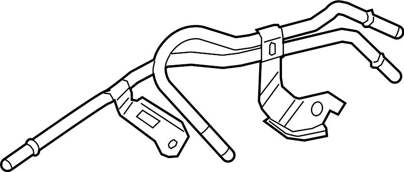 Toyota Avalon Automatic Transmission Oil Cooler Tube